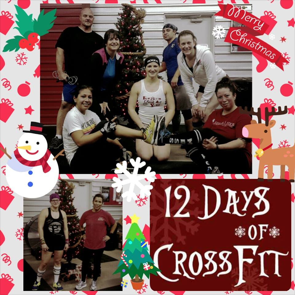 Crossfit Merry Christmas