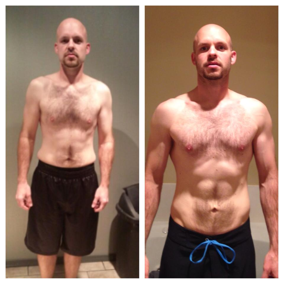 It's been a year that I've been doing CrossFit now. The picture on the left is this time last year and the right was a few weeks ago. I've met a bunch of new people and made some really good friends. I never thought I'd like this as much as I do and want to keep going back week after week. Big thanks to Timothy and Randi out at #compasscrossfit. #progenex #crossfit