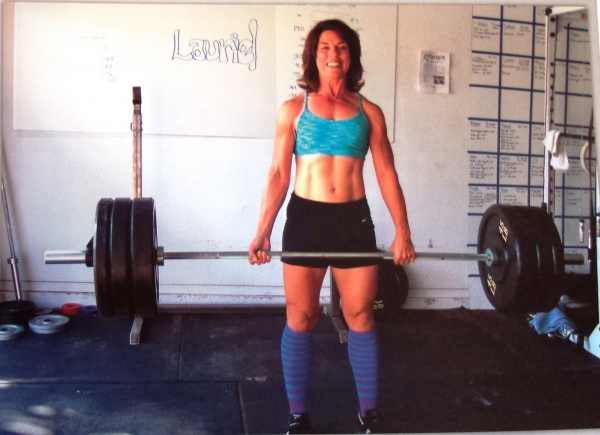 "In 2011, Lauriel Luther was diagnosed with brain cancer. She is not expected to make it through the night. ""The folks at her box, Kitsap CrossFit in Washington, posted a WOD in her honor."" -CrossFit"